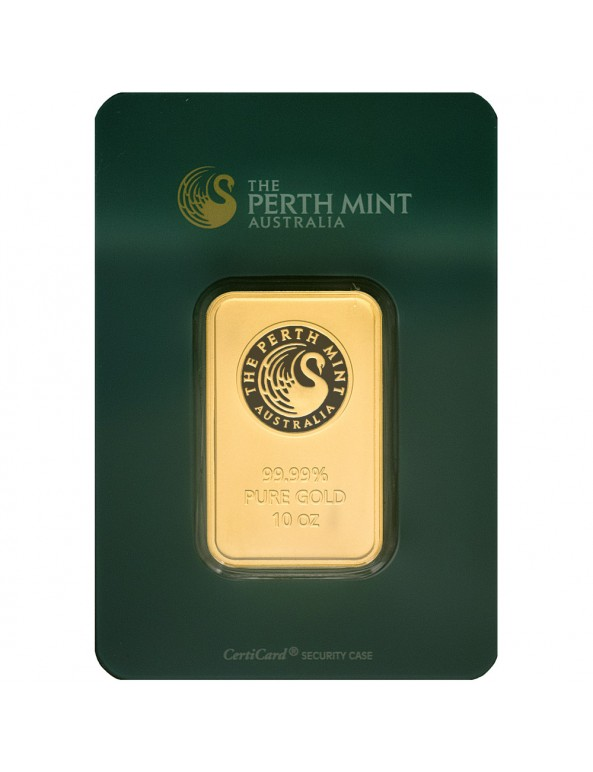 Buy 10 oz Perth Mint Gold Bars