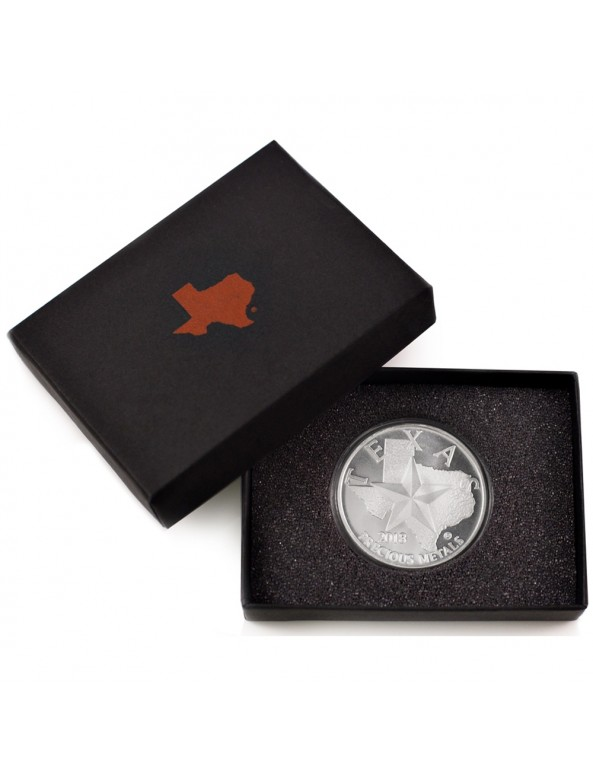 Buy 2018 Texas Silver Round with Custom Box