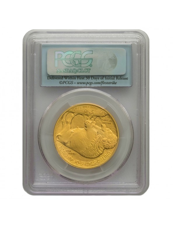 MS-70 PCGS First Strike American Gold Buffalo