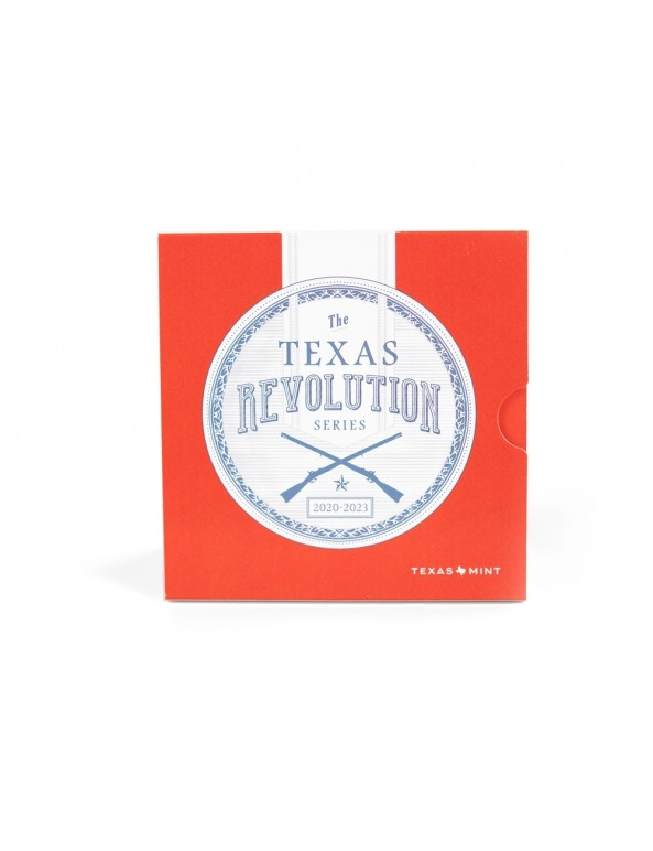 Texas Silver Round Collector Booklet - Front