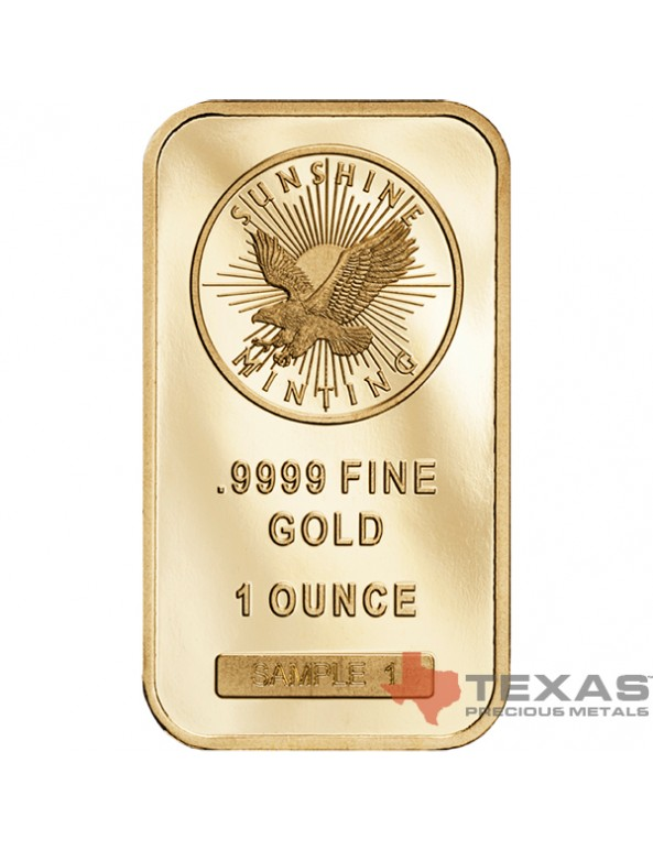 Buy 1 oz Sunshine Mint Gold Bars