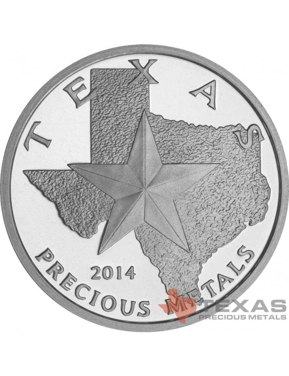 Buy 2014 Texas Silver Round Mini-Monster Box (250 ozs)
