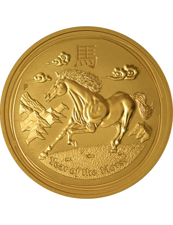 Buy 2014 Year of the Horse - Lunar Series II - 1/2 oz Gold