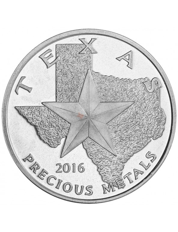 Buy 2016 Texas Silver Round Mini-Monster Box (250 ozs)