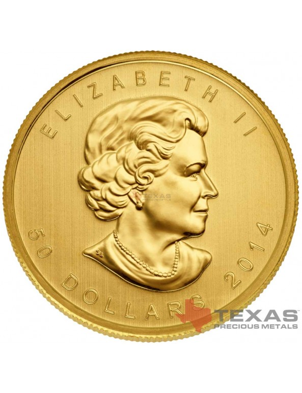 Buy 2014 Canadian Maple Leaf Gold Coin