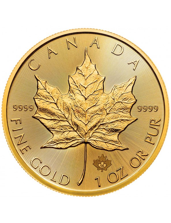 Buy 2016 Canadian Maple Leaf Gold Coin