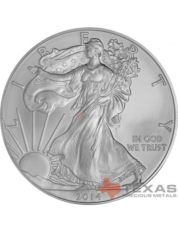 Buy 2014 American Silver Eagle Monster Box (SEALED)