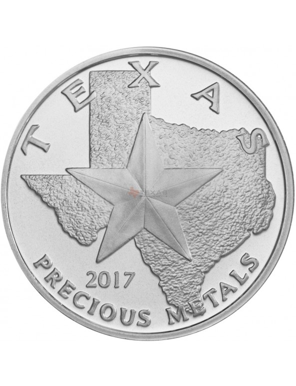 Buy 2017 Texas Silver Round Mini-Monster Box (250 ozs)