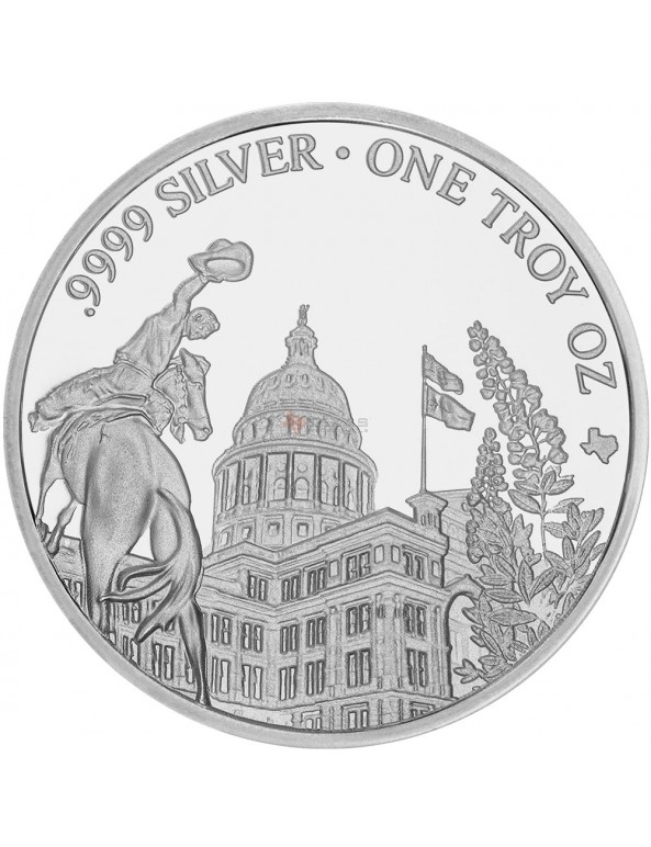 Buy 2018 Texas Silver Round Mini-Monster Box (250 ozs)