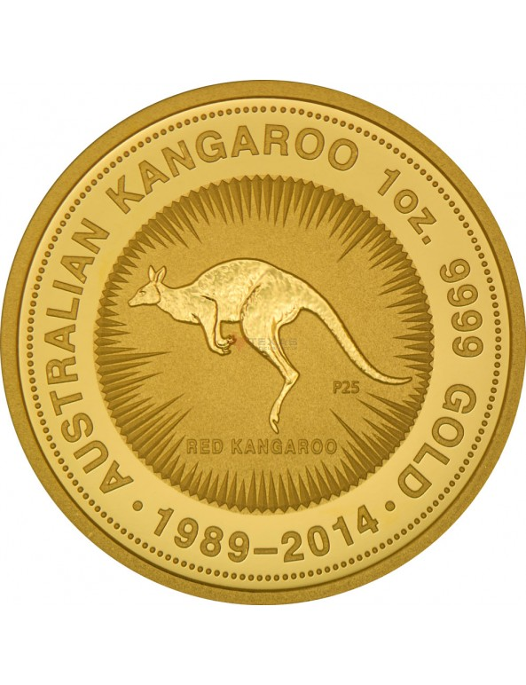Buy 25th Anniversary Gold Kangaroo Tribute Coin