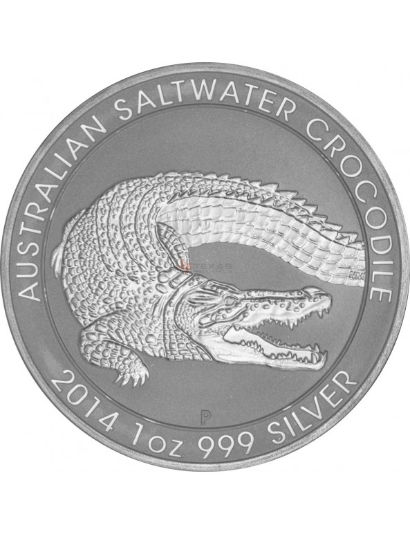 Buy 2014 Perth Mint Silver Saltwater Crocodile