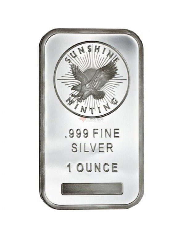 Buy 1 oz Sunshine Mint Silver Bars
