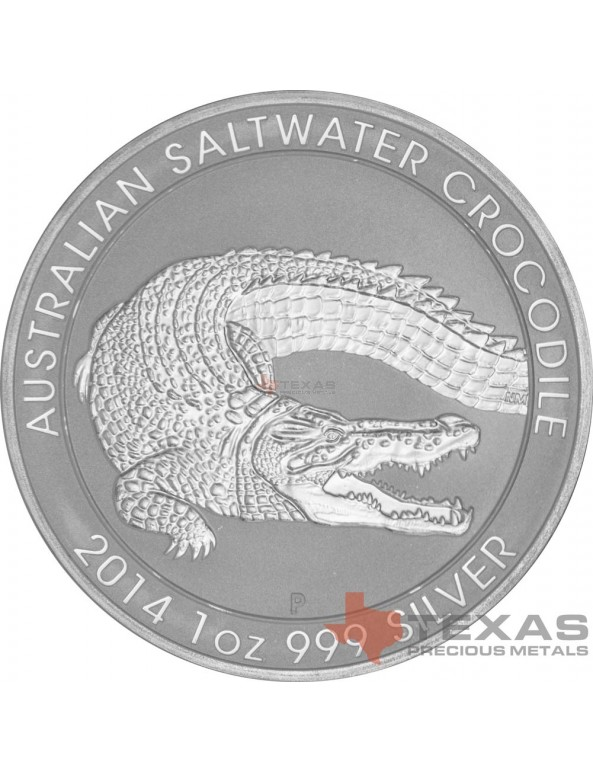 Buy 2014 Perth Mint Silver Saltwater Crocodile Monster Box (SEALED)