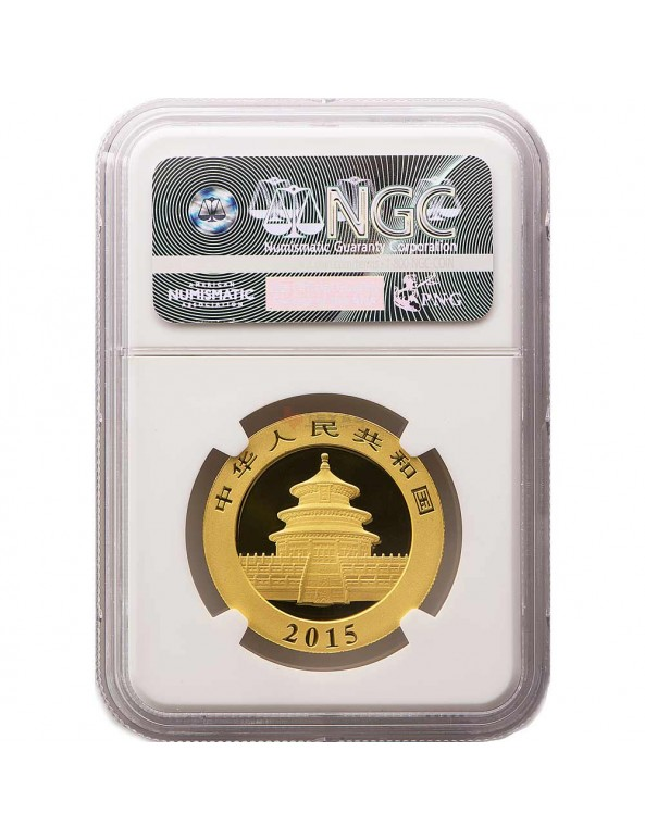 Buy 2015 Chinese Gold Panda - MS-69 NGC