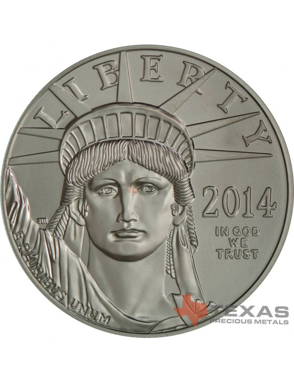 Buy 2014 American Platinum Eagle Coin