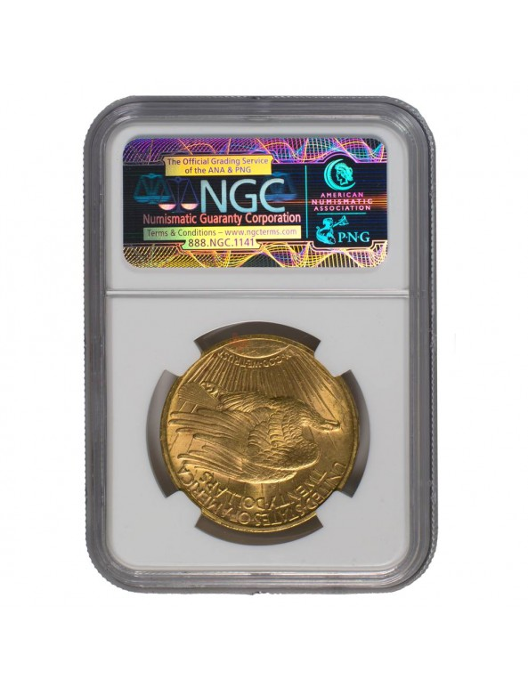 Buy $20 Saint-Gaudens Gold Double Eagle - MS-62 PCGS/NGC (Dates Our Choice)