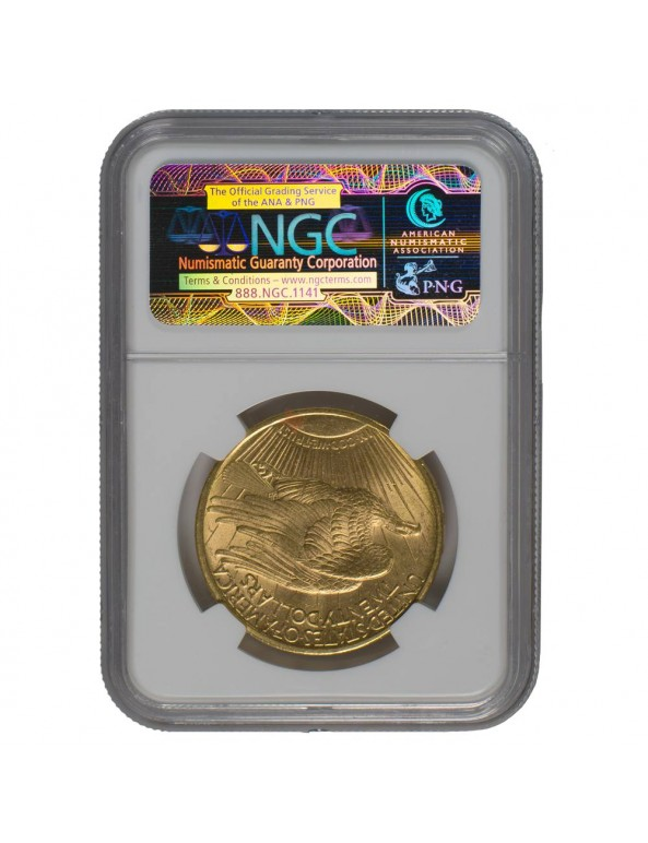 Buy $20 Saint-Gaudens Gold Double Eagle - MS-63 PCGS/NGC (Dates Our Choice)