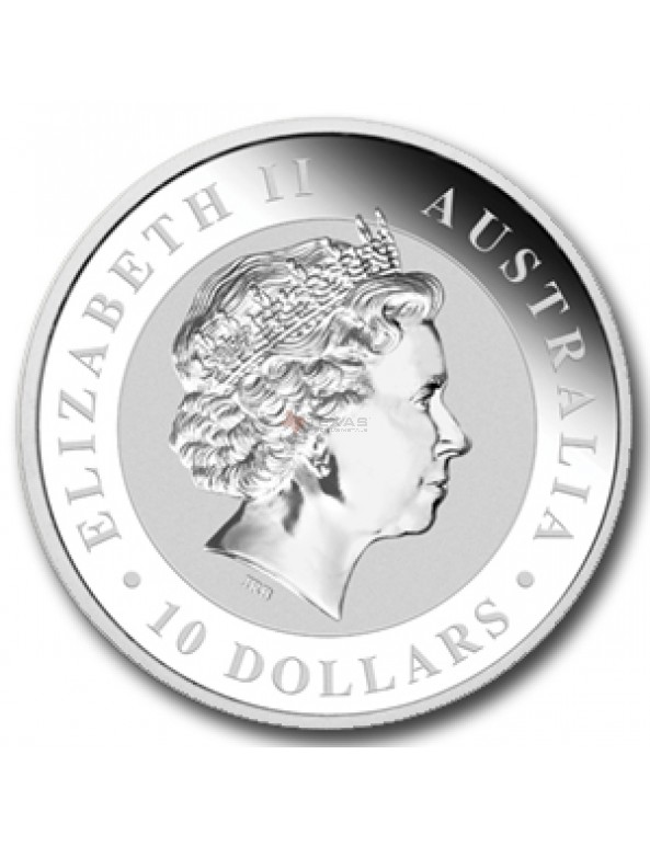 Buy 10 oz Australian Perth Mint Silver Kookaburras (2013)