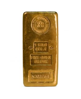 1 Kilo Gold Bar by Royal Canadian Mint