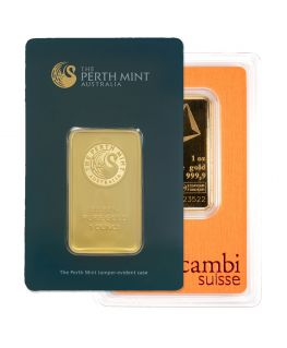 1 oz Gold Bar (Mint of Our Choice)