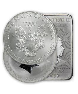 1 oz Scruffy Silver Coin, Bar, or Round
