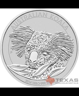 Buy 2014 Australian Silver Koalas (1 Kilo, 32.15 ozs)