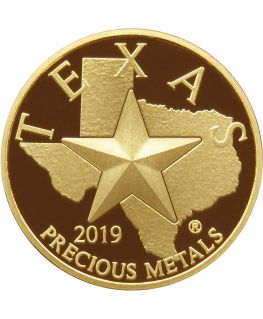 Buy 2019 Texas Gold Round