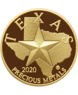 Buy 2020 Texas Gold Round