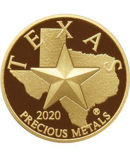 Buy 2020 Texas Gold Round