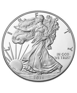 Buy 2021 American Silver Eagle Coin (Type 1)