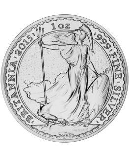 Buy 2015 Royal Mint Silver Britannias