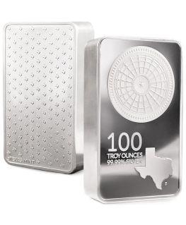 Buy 100 oz Texas Silver Bar