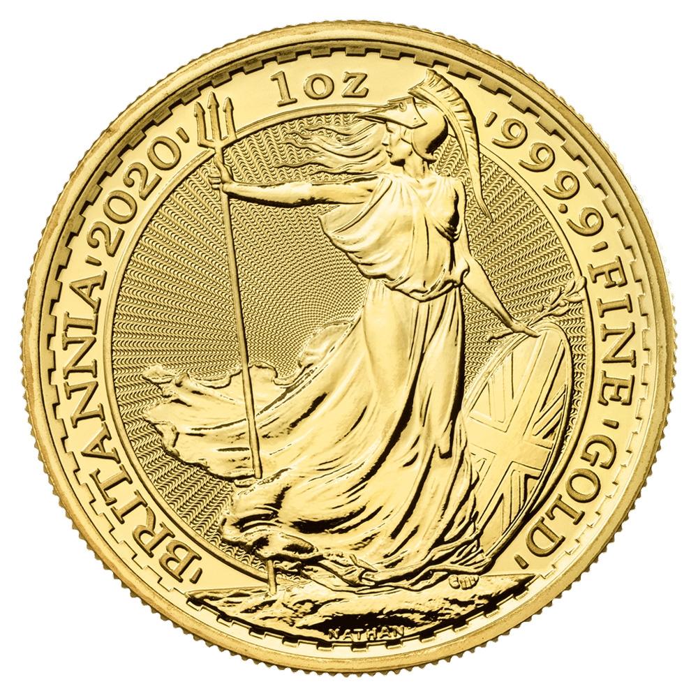 Royal Mint Gold Britannias