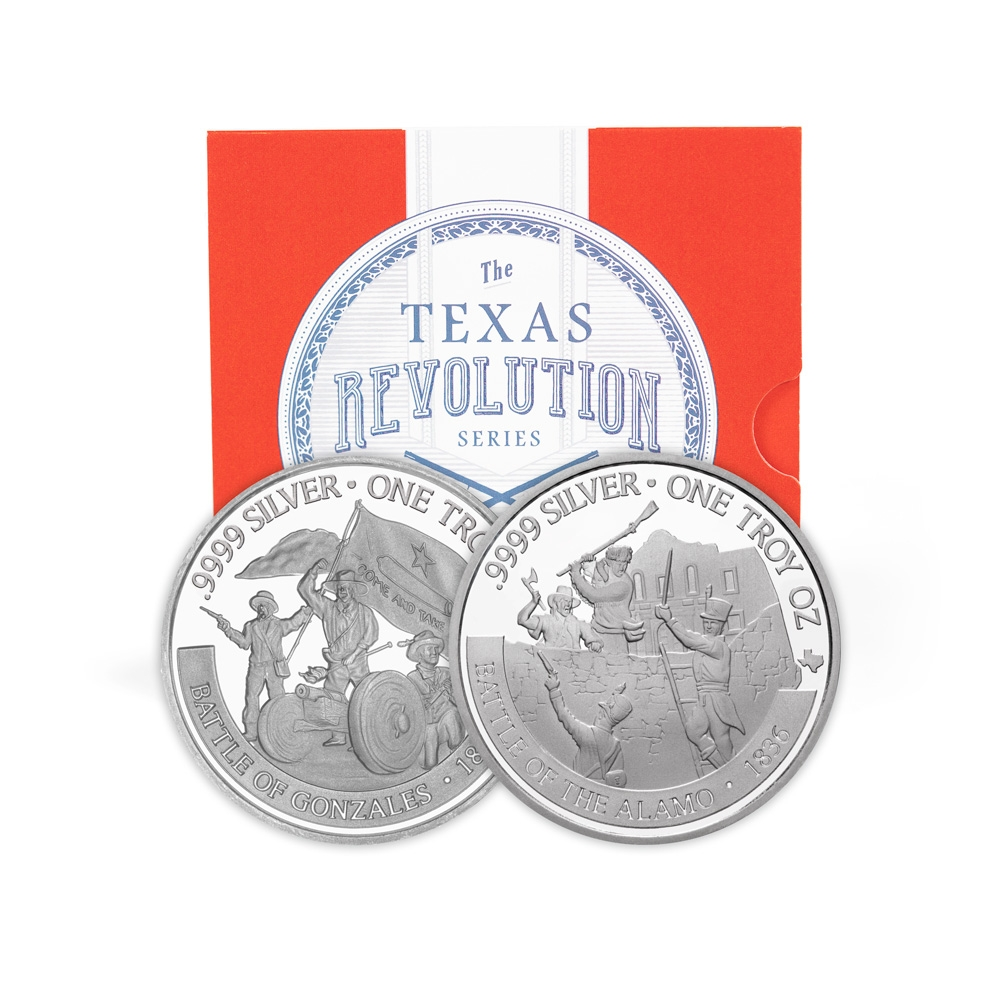 Revolution Series Booklet With 2020 & 2021 Texas Silver Round