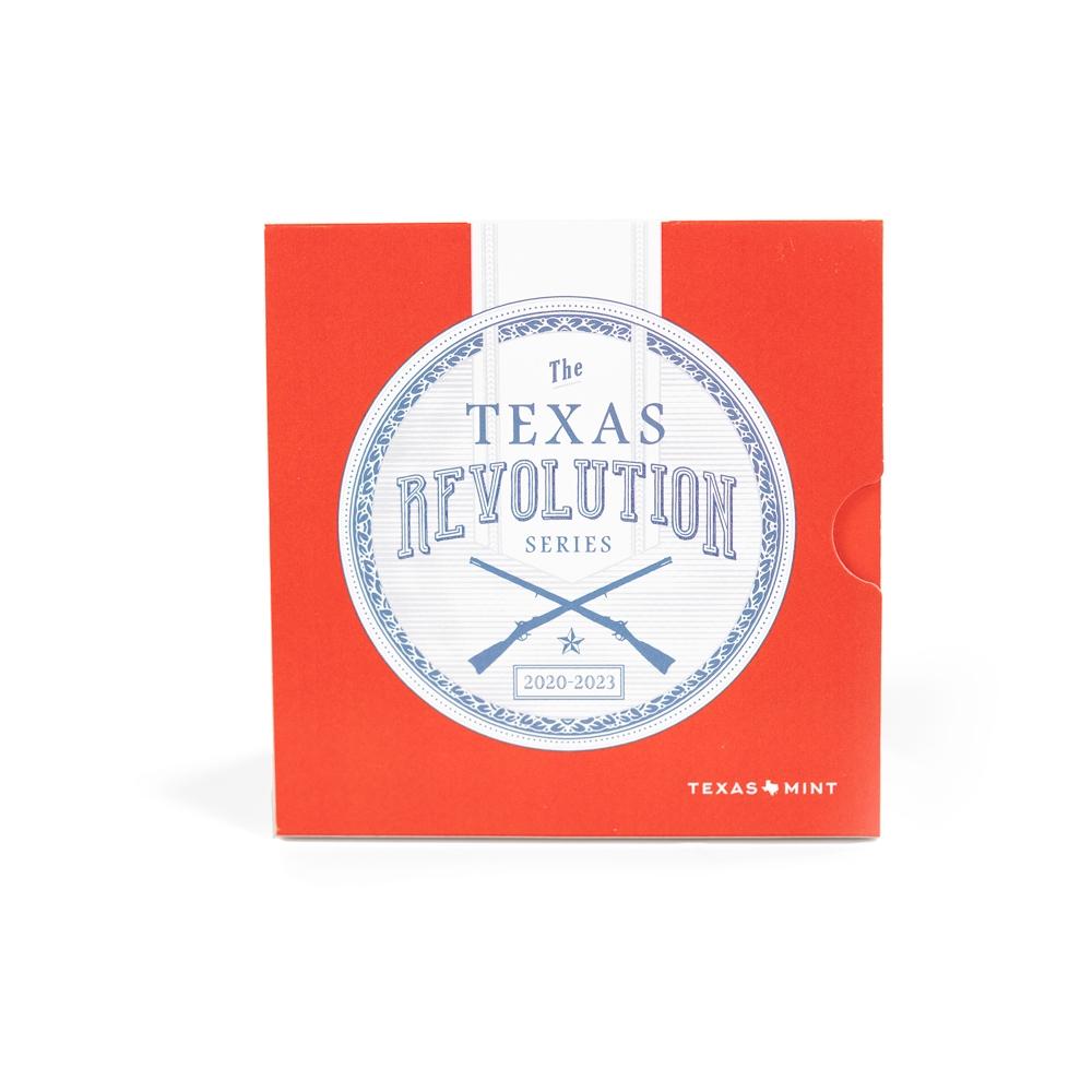 Texas Revolution Coin Booklet (No Coin)