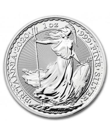 2020 Royal Mint Silver Britannias