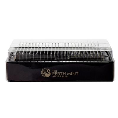 1 oz Perth Mint Gold Bars w/ Assay (25 oz Box)