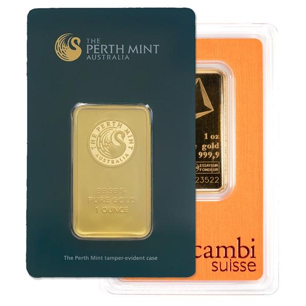 1 oz Gold Bars (Any Mint)