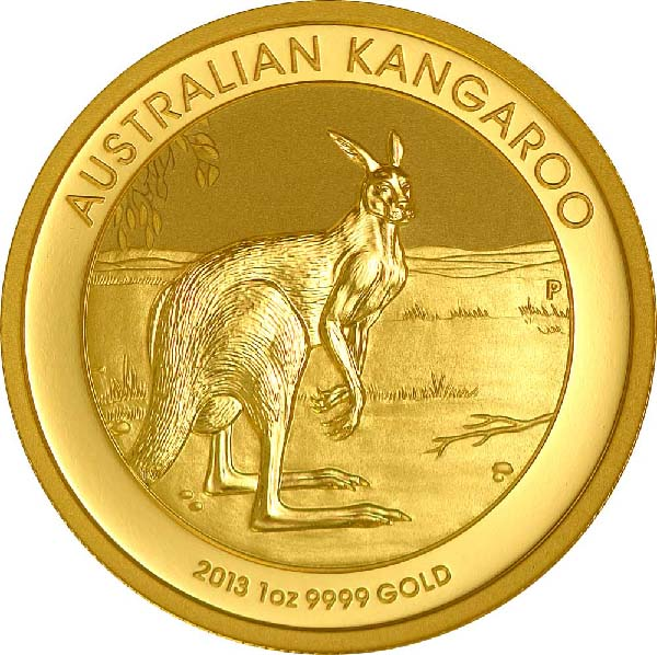 Reverse for Australian Gold Kangaroos (Any Year)