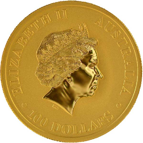 Obverse of Australian Gold Kangaroos (Any Year)