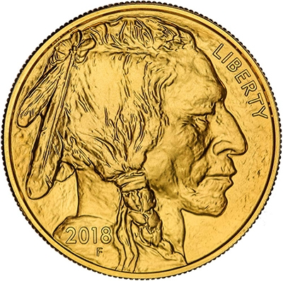 Obverse of 2018 American Buffalo Gold Coin