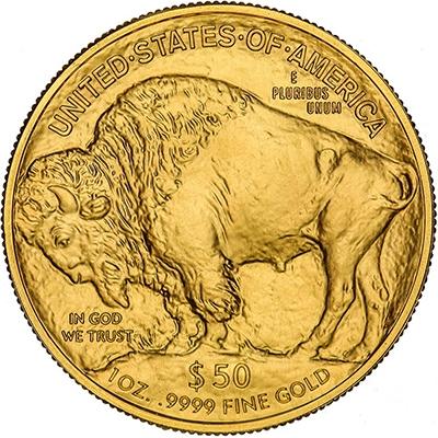 Reverse of 2018 American Buffalo Gold Coin