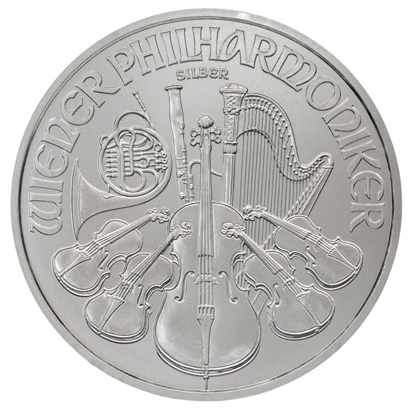 Reverse of 2019 Austrian Silver Philharmonic