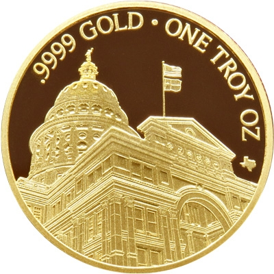 Buy 2019 Texas Gold Round *Box of 10*