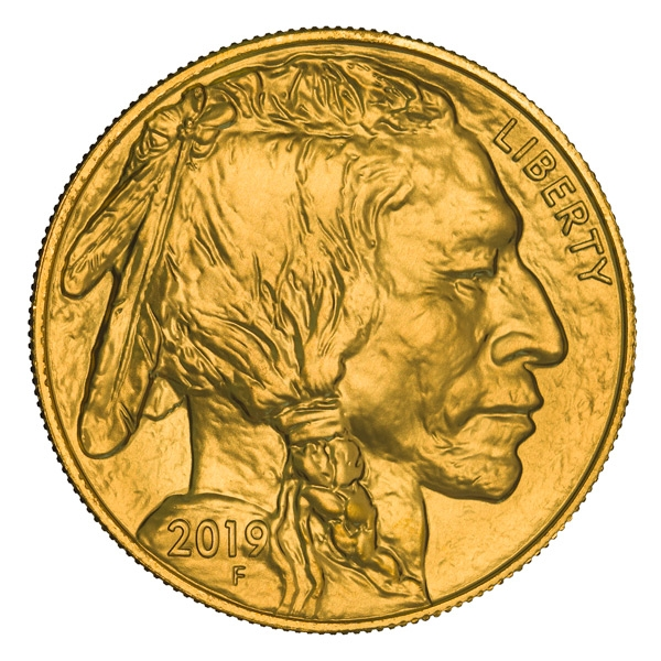 Obverse of 2019 American Buffalo Gold Coin