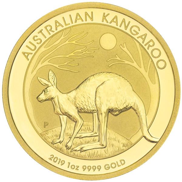 Reverse of 2019 Australian Gold Kangaroo