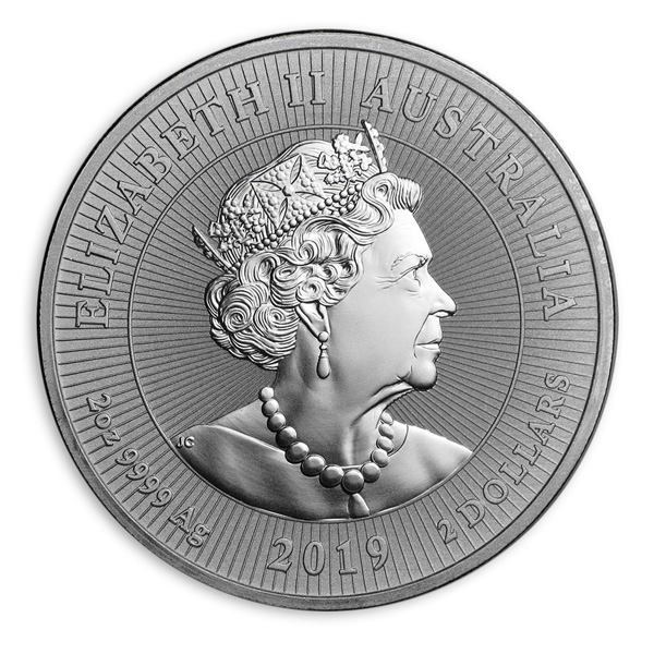 Perth Mint Crocodile Mother and Baby 2 oz coin