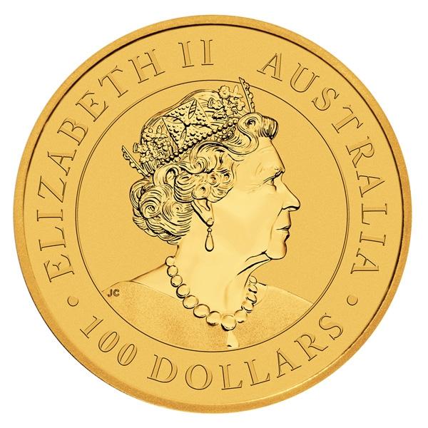Obverse of 2020 Australian Gold Kangaroo