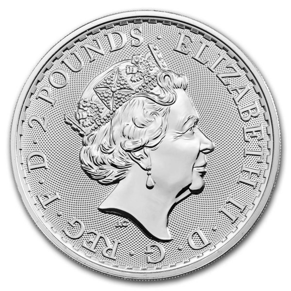 Royal Mint Silver Britannias Reverse