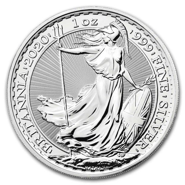 Royal Mint Silver Britannias Obverse